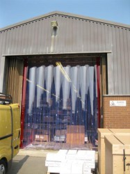 PVC Strip Curtains image