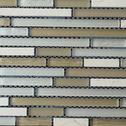 Stone Fussing Line 001 Beige Stone & Glass Mix image
