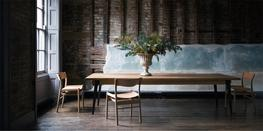 The Darby is made from oak or elm that has been grown in Britian.  Each piece of timber has been carefully selected for its individual characteristics. Every table is unique and distinctive and will make a real statement in your home.  Knots and splits are emb...