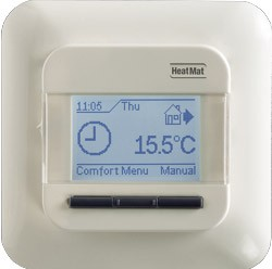 This popular programmable thermostat allows you to easily achieve the perfect temperature and comfort you desire from your underfloor heating.