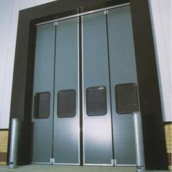 Insulated bi-folding doors are manufactured from high quality components and fully comply with the current EU safety standards. They offer simple design and quick operation together with insulation properties offering a U value of 0.35w/m2k. These doors are si...