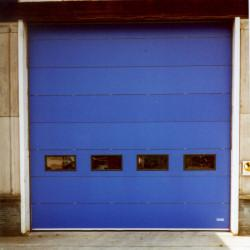 Insulated sectional overhead doors provide increased insulation and thermal bridging properties as well as security. These doors are made up from 600mm high x 40mm thick panels and filled with high density CFC free polyurethane foam providing a U value of 0.44...