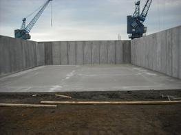 Cast In Retaining Wall image