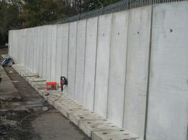 Concrete Bolt Down Retaining Wall image