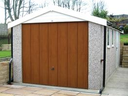Apex Roof Garages - The Carston image