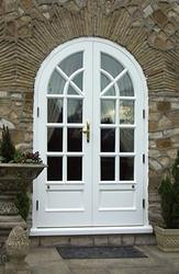 Timber French Doors image
