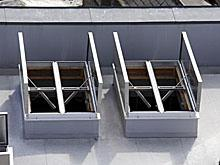 Double Flap Smoke Ventilator Solution  The Duo Therma is the solution for projects that require high acoustic or thermal performance together with low air leakage, for instance theatres, cold stores and schools. With achievable U values as low as 0.9W/m² deg ...