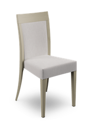 The Atlanta side chairs are a modern twist on the classic restaurant dining chair. With an full or slat back, the Atlanta can be upholstered in customers own material. The wooden frame can be stained to any wood finish. Also available in matching armchair and ...