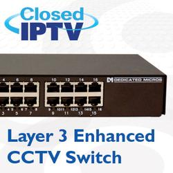 A fundamental component in Dedicated Micros award winning Closed IPTV solution – the Layer 3 Enhanced CCTV Switch offers a simple plug and play solution for IP cameras. Specifically designed for IP CCTV networks the switch allows installers to deploy a safe,...