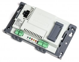 The Metro DALI Buswire module provides addressable switching, dimming & monitoring of DALI luminaires along a common buswire.
