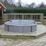 Hot Tub and Jacuzzi Decking image