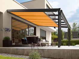 markilux 889 under glass awning image