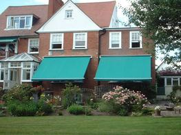 Traditional victorian patio awnings - Deans Blinds & Awnings UK Ltd