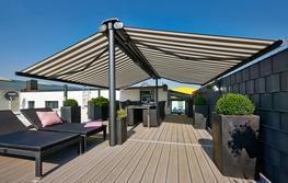 Markilux syncra back to back awning system image