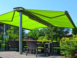 Markilux syncra back to back awning system by Deans Blinds & Awnings