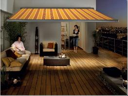 Markilux 1650 Patio awning with lights image