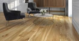 Oxford Engineered Brushed and Oiled Oak Flooring image