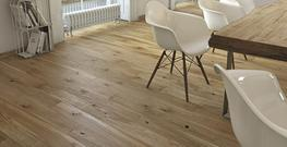 Oxford Engineered Brushed and Matt Lacquered Oak Flooring image