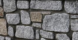 Random Tumbled Building Stone – Silver/Grey Granite image