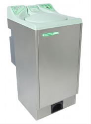 The Pulpmatic Eco, as its name implies, is an eco-friendly macerator with capacity for 3-4 pulp items per cycle of 105 seconds. It is specifically designed to cope with most regular usage patterns, ensuring disposal with the minimum use of water and electricit...