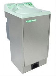 The Pulpmatic Ultima is a large capacity pulp macerator able to cope with 4-6 pulp items per 120 second cycle. Suitable for busy dirty utility rooms the Pulpmatic Ultima was developed to cope in high use areas and its unique nine bladed macerating technology w...
