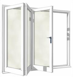 Bsf70 Folding Door System By Aluk Gb Ltd