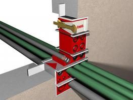 The BST system is a modular firestop system for sealing cables and pipes as they pass through walls or floors in buildings, ships and steel constructions. Once fitted you can have total peace of mind that your service openings are protected against fire, smoke...
