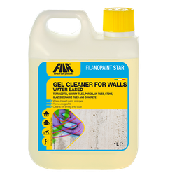 Removes graffiti from treated and untreated walls: it is particularly effective on rough or porous surfaces (cement/plaster walls, bricks, natural stone. . . ). Removes FILAWET, FILAWETECO and FILAPT10 protectors if they have been incorrectly applied or when thorough cleaning is required. Viscous consistency: ideal for wall applications. Provides in-depth cleaning and degreasing. Cleans smog and dust from external walls. It removes filming and painting products from terracotta surfaces.