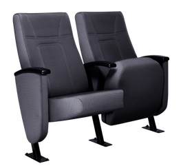 The Riviera is a luxurious executive style conference chair developed with ergonomics and comfort in mind.    Its wide seat, high back and plush padding make it an ideal choice for both corporate and commercial auditoriums.    The Riviera can also be fitted wi...