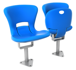 The M version is the centrepiece of the FCB range with its wide contoured seat and ergonomically shaped back.  The slim folding mechanism provides maximum seatway even in the narrowest row depths.  The integrated maintenance free rotating mechanism with interi...