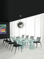 Luxor Glass meeting room tables image