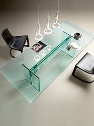 LLT Glass desk - Glassdomain Ltd