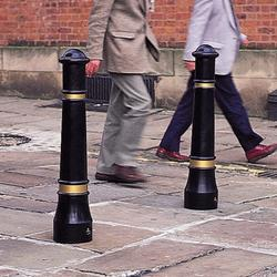 This traditional bollard with rebound or rigid material options offers a passively safe alternative to cast iron and performs to BE EN 12767 standard, not adding any danger to the vehicle occupants if collided with....
