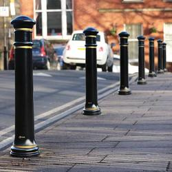 This cast iron style bollard is ideal for schemes in traditional town centres. Great for traffic calming schemes in heritage areas, this is a low-maintenance alternative to a high maintenance cast iron bollard....