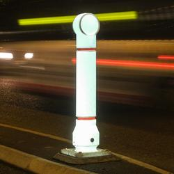 The Mini-Ensign rebound bollard is now available in white Impactapol® and can be illuminated for schemes where increased visability of the bollard at night time is a requirement....