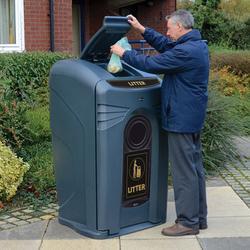 Nexus® City 240 Litter Housing by Glasdon UK Limited