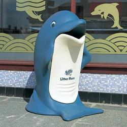 The Splash novelty litter bin is a great waste management solution for child orientated areas. The dolphin character is ideal for leisure centres and swimming pools....