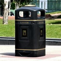 The Glasdon Jubilee is an attractive external litter bin. With four large apertures, the litter bin is easily accessible to manage waste in busy outdoor recreational areas....
