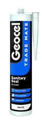 Trade Mate Sanitary Seal Silicone Sealant is ideal for sealing around sanitary units and non-porous surfaces and is ready to use in 1 hour. It provides excellent unprimed adhesion to a variety of substrates including ceramics, plastics and vitreous enamel. Onc...