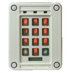 High Security Randomised Scramble Keypad image