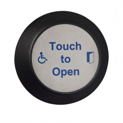 Round Stainless Steel Sensor - Touch Button image