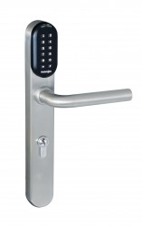 WEL7103 Battery Powered Standalone Keypad / Proximity Euro Handle Lock image