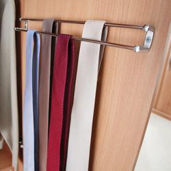 Chrome Tie Rack image