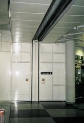 This 2-hours-rated door was designed particularly for large openings with little side space.   This 2-hours-rated door was designed particularly for large openings with little side space. This door has been proven for decades for small and large openings becau...