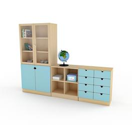 EFG Classroom consists of fixed and mobile storage ideal for school environments or other creative areas where furniture requirements are flexible. Mix and match drawers, shelves and cupboards in a wealth of colours creating the playful milieu that all student...
