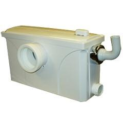 The MaxiFlush is a fully automatic macerator suitable for pumping waste from a complete bathroom to a higher level when gravity drainage is not possible or economical to install.  The system is suitable for installing either at the initial building stage or re...