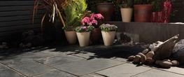 Natural Slate Paving Slabs image