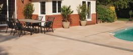Smooth Natural Sandstone Paving Slabs image
