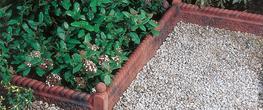Rustic Rope Top Garden Edging image