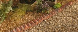 Sawtooth Garden Edging image